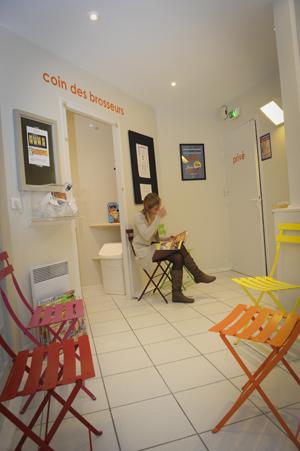 Salle d'attente enfants